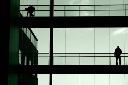 male in the building Stock Photo - 489200