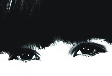 breen: girl eyes detail