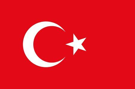 turkey istanbul: turkey flag