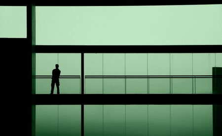 man in the building Stock Photo - 545116