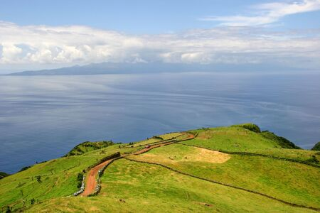 portugal agriculture: azores coast