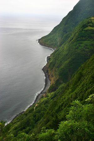 azores coastal view Stock Photo - 662712
