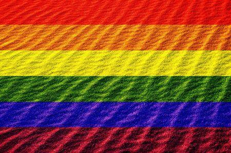 sanction: gay proud flag