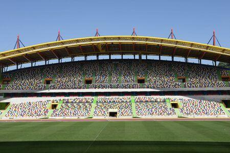 portuguese stadium of the euro Stock Photo