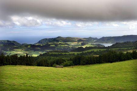 azores landscape photo