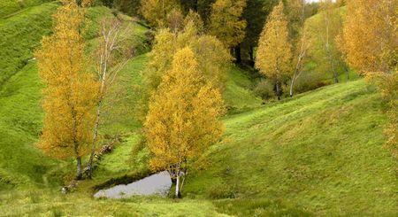 autumn landscape Stock Photo - 828952