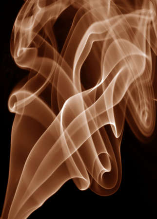 red rays smoke abstract in black background Stock Photo - 1787530