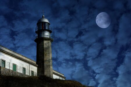 old lighthouse in the coast of spain Stock Photo - 1933923
