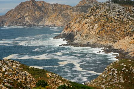 limpid: limpid water of the Mediterranean - coast of spain Stock Photo