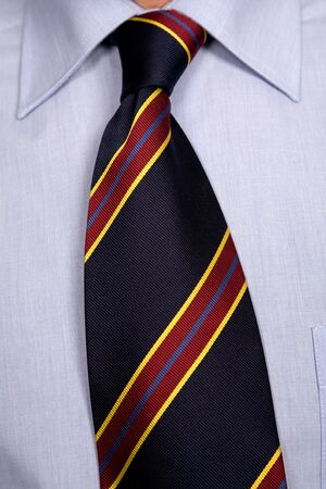 detail of a Business man Suit with colored tie Stock Photo - 3257589