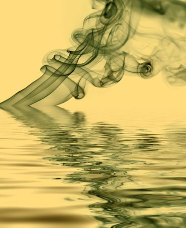 colored rays smoke abstract in colored background Stock Photo - 3915605