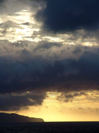 sunset at the beach Stock Photo - 5753780