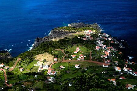jorge: Faja, village at the coast in Sao Jorge island, Azores, Portugal