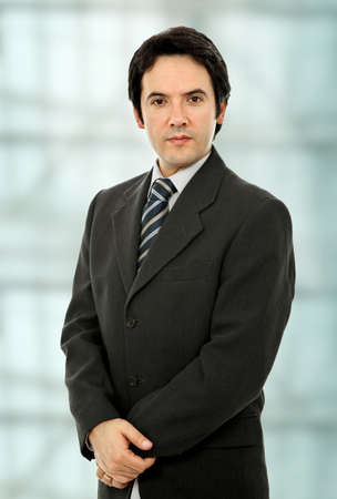 young business man portrait at the office Stock Photo - 8851474