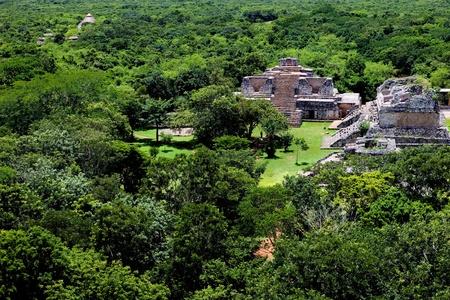 riviera maya: Antigua ciudad Maya de Ek Balam, Yucat�n, M�xico