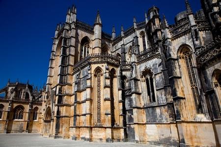 Patrimonio de la Catedral de Batalha cerca de Leiria, Portugal Foto de archivo - 9070096