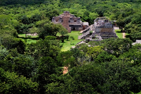 mayan riviera: Ancient Maya city of Ek Balam, Yucatan, Mexico
