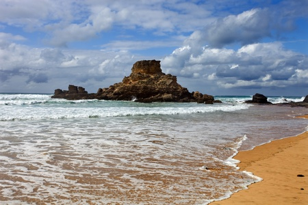 Portuguese Algarve beach, the south of the country  photo
