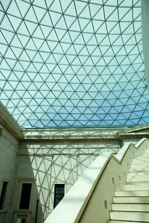 인간의 역사와 문화의 대영 박물관 (British Museum)의 세부 사항. 런던 스톡 콘텐츠 - 10280374