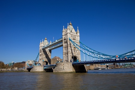 Detail of the tower bridge of London, England Stock Photo - 10331266