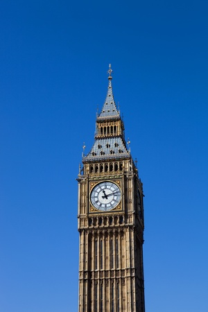 clock tower: london, big ben clock at the westminster city Stock Photo