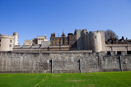 The Tower of London, medieval castle and prison Stock Photo - 10809592