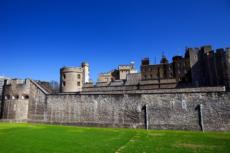 The Tower of London, medieval castle and prison Stock Photo - 10990943