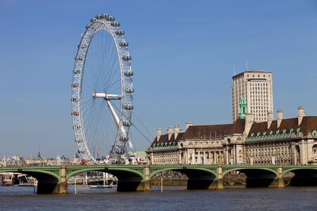 millennium wheel: the london eye or millennium wheel in london