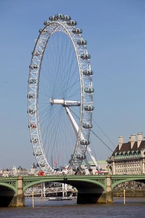 the london eye or millennium wheel in london