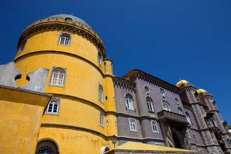 Famous palace of Pena in Sintra, Portugal Stock Photo - 11916331