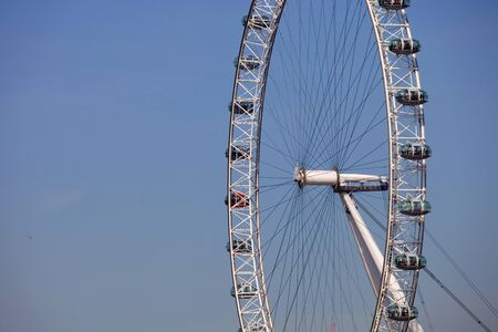 the london eye or millennium wheel in london Stock Photo - 11952166