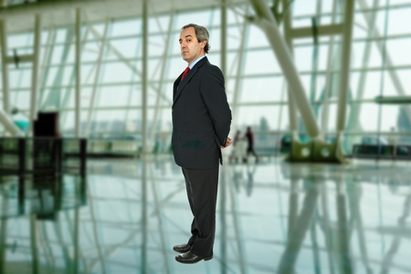 mature business man in a modern building photo