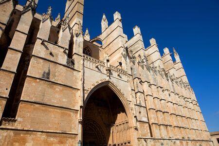 Detail of Mallorca cathedral, in Palma de Mallorca, Spain Stock Photo - 12110650