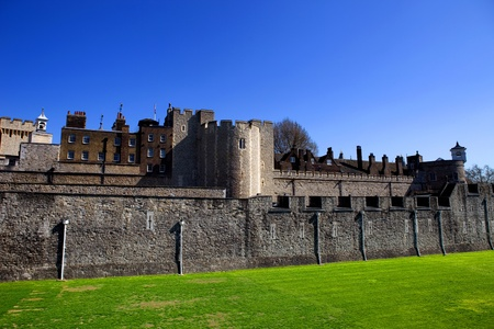 The Tower of London, medieval castle and prison photo