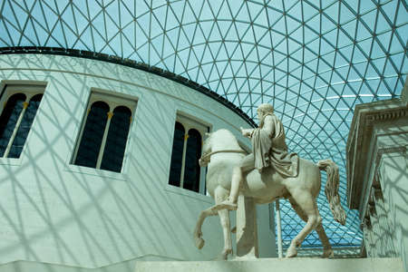 british museum: The British Museum of human history and culture. London, UK