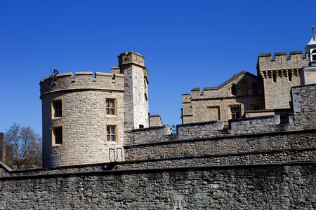 The Tower of London, medieval castle and prison Stock Photo - 12676817