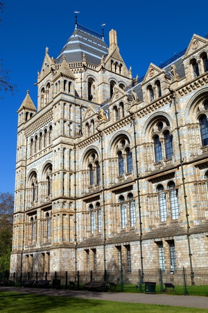 The Museum of Natural History in the London, England
