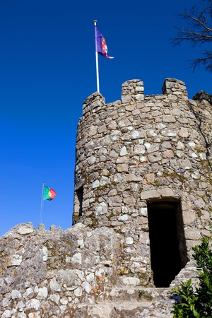 Castelo dos Mouros in the village of Sintra, Portugal photo