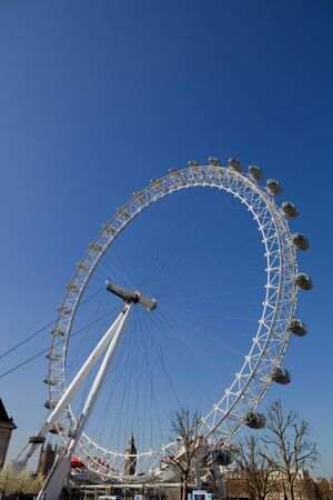 the london eye or millennium wheel in london Stock Photo - 13337767
