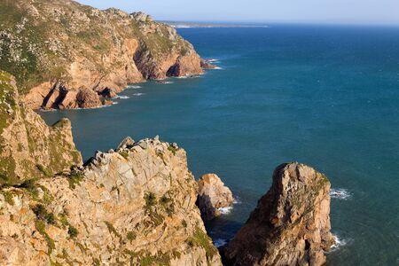 roca: Cabo da Roca, the wester point of Europe, Portugal
