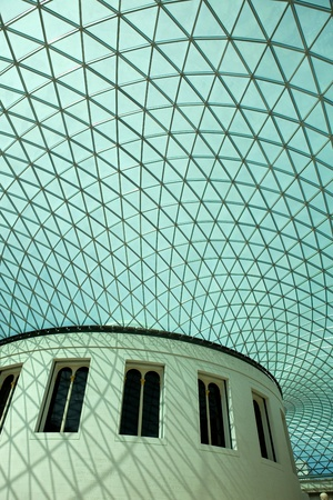 The British Museum of human history and culture. London, UK