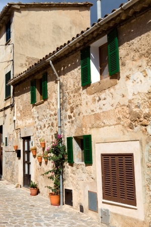 the old village of Valldemossa in Mallorca, Spain photo