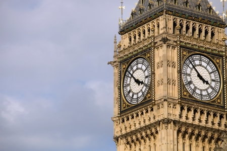 london, big ben clock at the westminster city