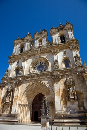 The monastery of Alcobaca in Portugal photo