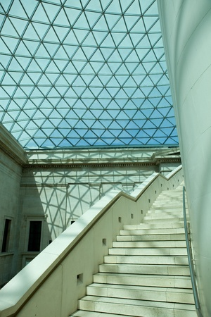 details of the British Museum of human history and culture. London