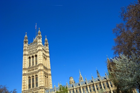 London: Parliament building at the Westminster city Stock Photo - 14628744