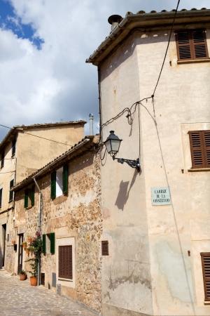 the old village of Valldemossa in Mallorca, Spain