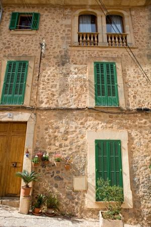 the old village of Valldemossa in Mallorca, Spain
