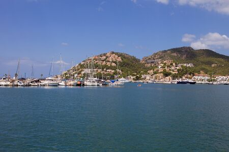 Port of Andratx in Mallorca island, Spain photo