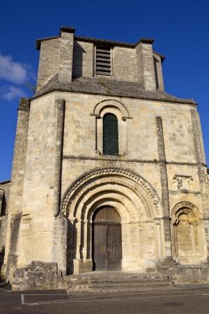 Saint Emilion ancient gothic church, Aquitaine, France Stock Photo - 16325496